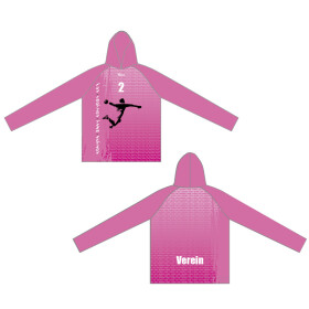 Action-Fun-Emotion-Team Hoodie Emotion pink