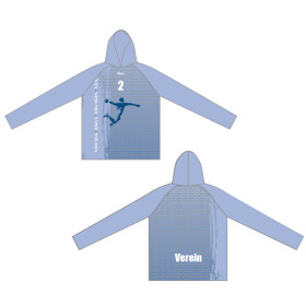 Action-Fun-Emotion-Team Hoodie Emotion hellblau