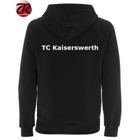 TCK Hoodie Herren (ohne RV) schwarz Baumwolle