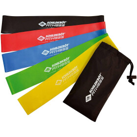 Schildkröt Mini Resistance Bands (5er Set) + Carrybag