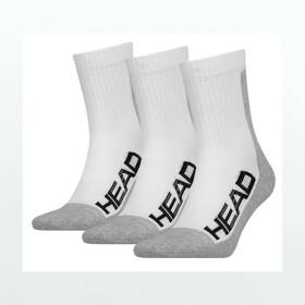 Head Socks Tennis Performance 3P Unisex white/grey