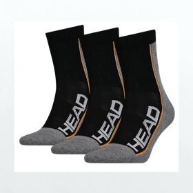 Head Socks Tennis Performance 3P Unisex black
