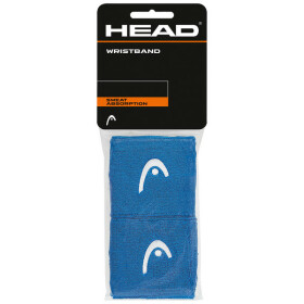 "Head Wristband 2,5"" blue 2er Pack"