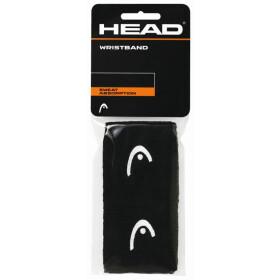 """Head Wristband 2,5"""" black 2er Pack"""