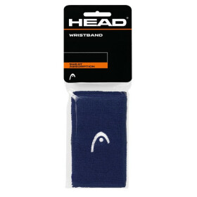 "Head Wristband 5"" navy 2er Pack"
