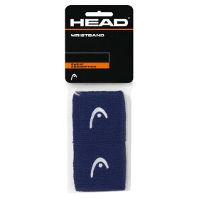 "Head Wristband 2,5"" navy 2er Pack"