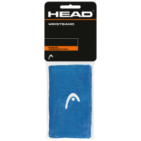 "Head Wristband 5"" blue 2er Pack"