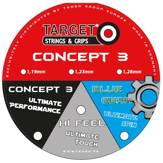 Target Concept 3 fire 12m-Set