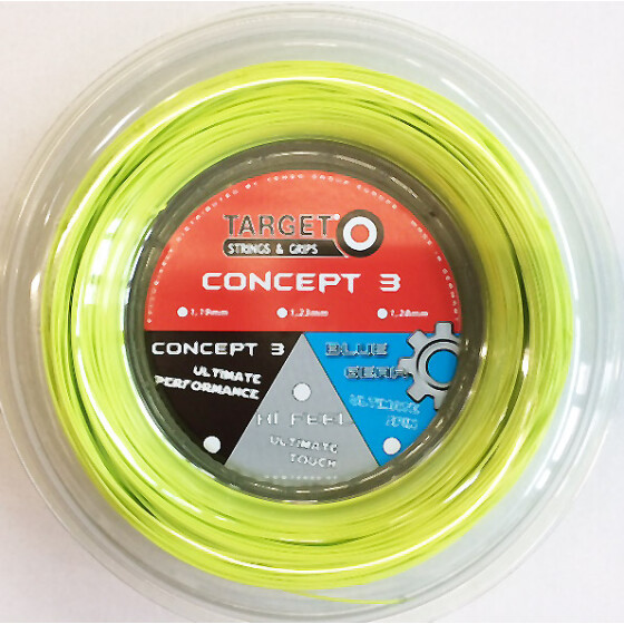 Target Concept 3 lime 200m-Rolle