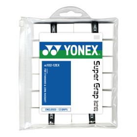 Yonex Super Grap 12er weiß