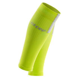 CEP Compression Calf Sleeves 3.0 lime/light grey