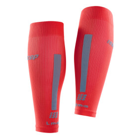 CEP Compression Calf Sleeves 3.0 lava/grey